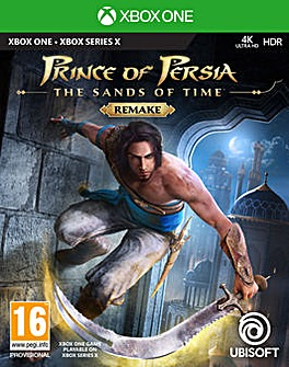 Prince of Persia Sands of Time Series X