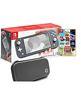 Switch Lite inc Mario All Stars and Case