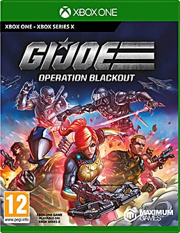 GI-JOE Operation Blackout Xbox One