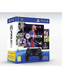 FIFA 21  Dualshock 4 Controller PS4