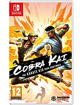 Cobra Kai The Karate Saga Switch