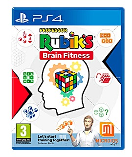 Professor Rubicks Brain Fitness PS4