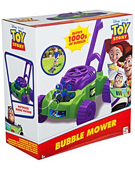 Disney Pixar Toy Story Bubble Mower With Bubble Solution