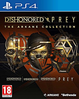 Dishonored  Prey Arkane Collection PS4