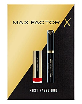Max Factor Lips and Lashes Set