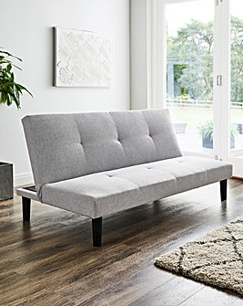 Riley Fabric Click Clack Sofa