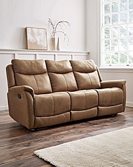 Nevada 3 Seater Recliner