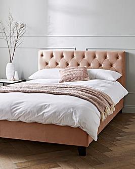 Cali Fabric Bed Memory Mattress