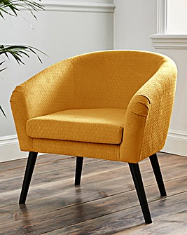 Ava Quilted Tub Chair