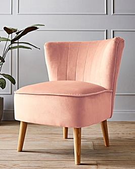 Alice Velvet Accent Chair