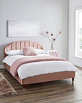 Clara Fabric Bed Frame