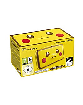 2DS XL Yellow Pikachu Edition Console