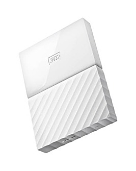 My Passport 3TB USB3.0 Portable White