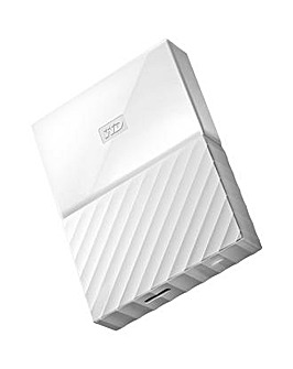 My Passport 4TB USB3.0 Portable White