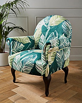 Joe Browns Exotic Print Accent Chair