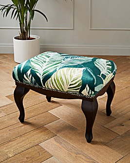 Joe Browns Exotic Print Footstool