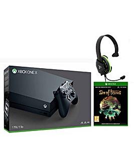 Xbox One X +Sea of Thieves +TB ReconChat