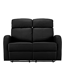Ramsey Faux Leather Recliner 2 Seater Sofa