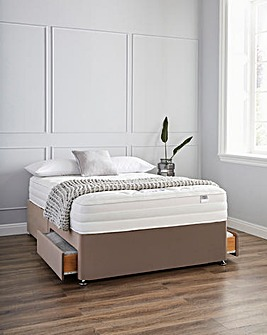 Silentnight 2000 Memory 2 Drawer Divan