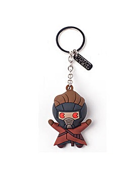 Starlord 3D Rubber Keychain