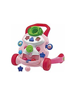 Chicco Baby Steps Activity Walker - Pink