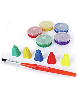 Paint-Sation Mini Pods & Finger Nibs Set