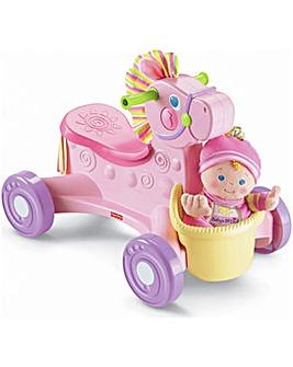 Musical Pony and Princess Doll