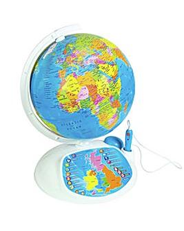 Interactive Educational Talking Globe