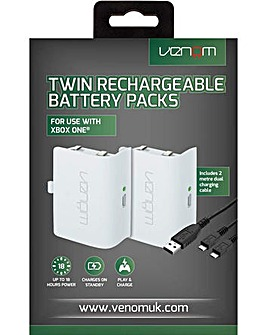 Xbox One Twin Rechargeable Battery Packs