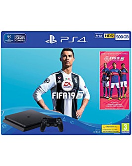 PS4 500GB FIFA 19 Bundle with FIFA 19