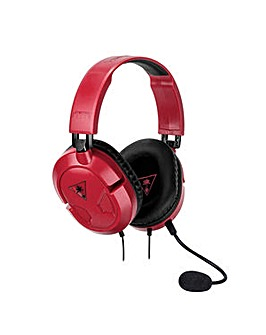 Turtle Beach Recon 50 Red Stereo Headset