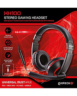 GIOTECK XH100 Wired Stereo GamingHeadset