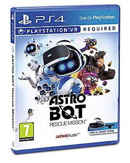 Astro Bot Playstation VR Game PS4