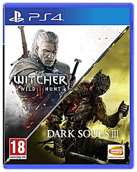 The Witcher 3 Wild Hunt and Dark Souls 3