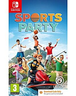 Sports Party Code in a Box Switch