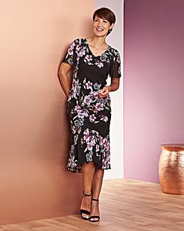 Frill Chiffon Dress