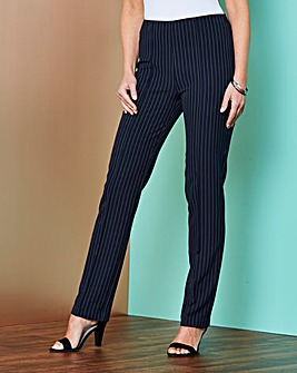 Pinstripe Trouser 27in