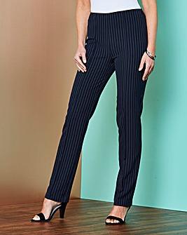 Pinstripe Trouser 27in