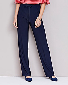 Julipa Tie Waist Jersey Trouser Regular