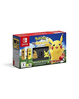 Nintendo Switch Lets Go Pikachu Console