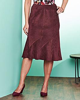Slimma Cord Skirt