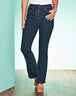 Bootcut Stretch Jean Extra Short