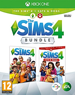 The Sims 4 Plus Cats and Dogs Bundle XB1