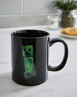 Minecraft Creeper Heat Change Mug