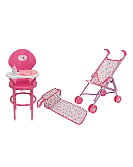 Peppa Pig Nursery Highchair Playset