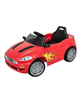 EVO 6 Volt Red Sports Car
