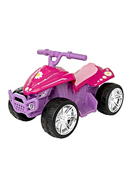 EVO Pink 6 Volt Quad Bike