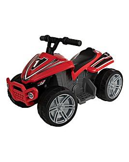 EVO Red 6 Volt Quad Bike