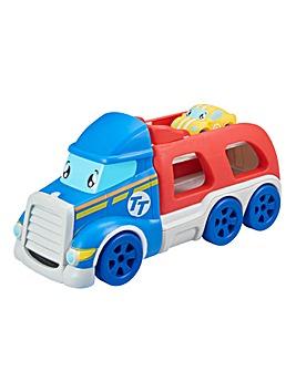 Tiny Teamsterz Transporter & Vehicle