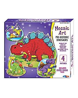 Mosaic Art Dinosaur